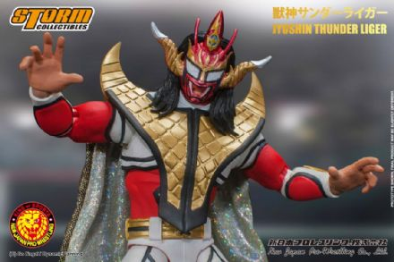 Storm Collectibles New Japan Pro Wrestling (NJPW) 1/12 Scale Jyushin Thunder Liger Action Figure